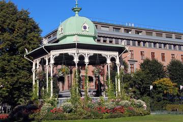 Pavillon in Bergen