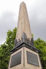 Egyptian obelisk, London