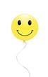 Yellow smiley balloon