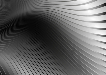 Vector metal silver web template