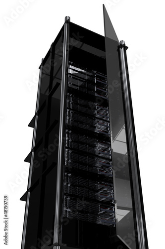 Hosting Tower Rack