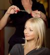 haircutter in salon