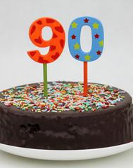 90er feiern