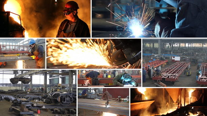 Metal industry multiscreen