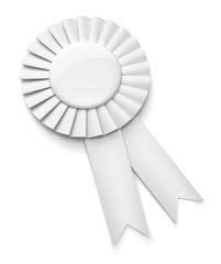 Médaille sur fond blanc 1