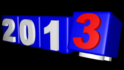 2012 to 2013 New year's coming