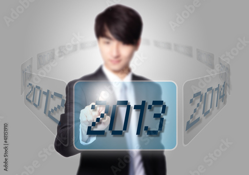 Enter 2013 new year