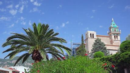 Valldemossa village on Mallorca Island, Spain