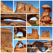Arches National Park collage