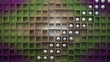 Cubos 3d y esferas