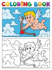 Coloring book with Cupid 2