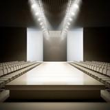 Fototapety Fashion empty runway.