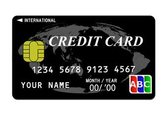 クレジットカード(黒)