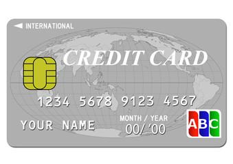 クレジットカード(シルバー)