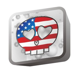 america skull