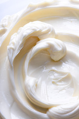 Light cream swirl