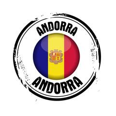 timbre Andorre