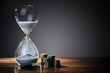 Leinwanddruck Bild - Time is money