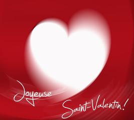joyeuse st valentin illustration