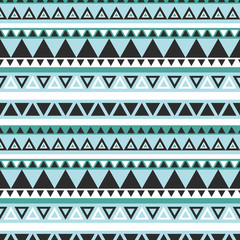 Seamless graphic aztec pattern
