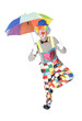 Tanzender Clown
