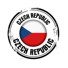 timbre République Tchèque