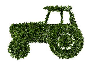 Trattore, agricoltura biologica, verde, ecologia, allevamento