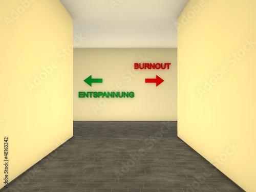 Weg zum Burnou