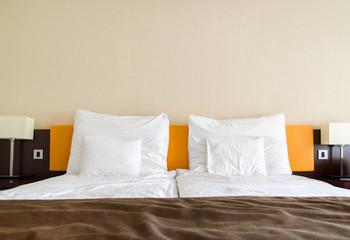 Luxury hotel bedroom