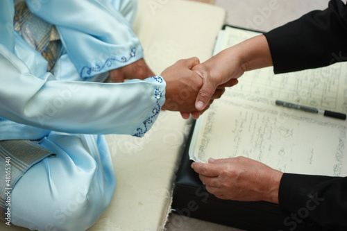 Malay wedding tradition