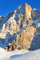 Dolomites, Pale di San Martino - Baita Segantini hut, Italy