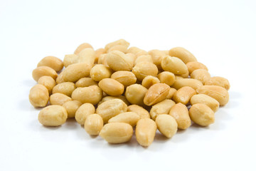 Salted peanuts. Nuts in a Small Bowl