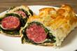 cotechino in crosta con spinaci