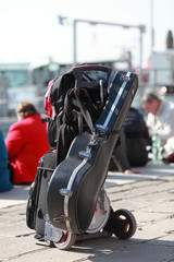 Musician's luggage