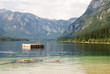 Diving Platform in Lake Bohinj