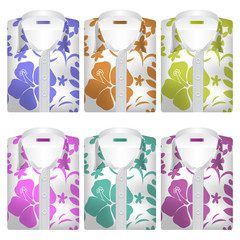 Hawaiian Aloha Shirts Icons