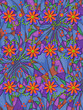 3D Daisies on Psychedelic Two