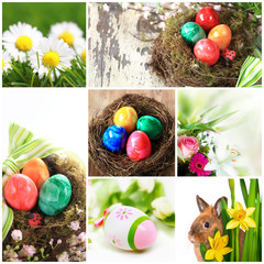 Collage Ostern