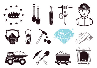 Miners icons
