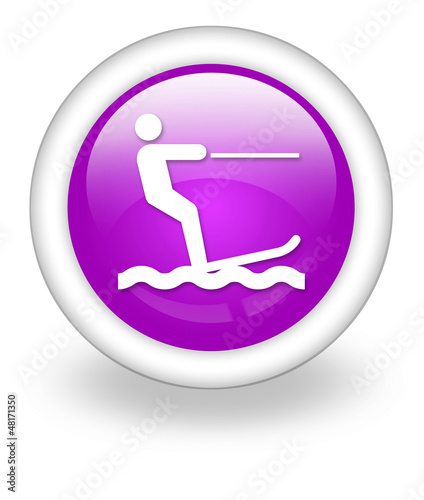 "Violet Icon ""Water Skiing"""