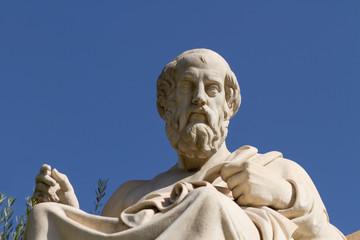 Statue of Plato in Greece