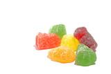 Jelly candies, dessert.