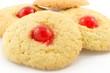 Biscotti boccucce d'angelo con ciliegia candita