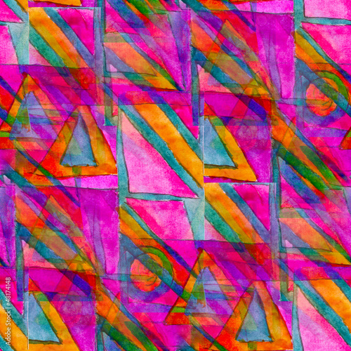 purple seamless cubism abstract art Picasso texture watercolor w