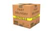 Caja aislada de carton Fast Delivery