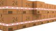 Cajas apiladas envio 24 horas