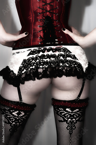 Rear View of Alternative Female © Shoot66Studio