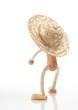 Menschenfigur mit Hut