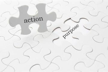 ビジネスイメージ―action and purpose