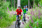 Fototapety Family biking